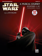 Star Wars I-VI - A Musical Journey (pf acc,CD)