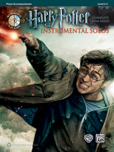 Harry Potter Instrumental Solos Complete Film Series (pf acc+CD)
