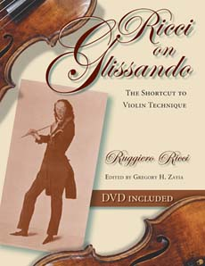 Ricci on Glissando - The Shortcut to Violin Technique (+DVD)