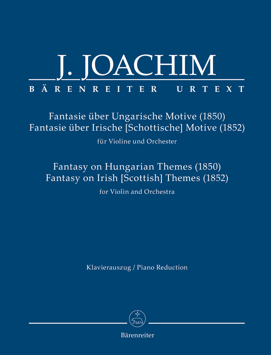 Fantasy on Hungarian Themes (1850) & Fantasy on Irish Themes (1852)(vl,pf)